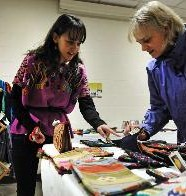 Glen Rock handcrafts sale supports education in Guatemala